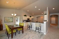 The Snowbrush by Hayden Homes - Dining Room - the Snowbrush offers 4 bedrooms and 2 bathrooms with 2,046 sq. feet.