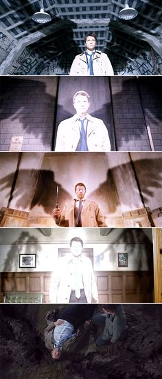 Castiel: I'm an Angel of the Lord. #spn