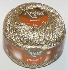 Anchor Artiste Metallic perfect for home decoration clothing and fashion accessories This metallic yarn has been rebranded formally known as Anchor