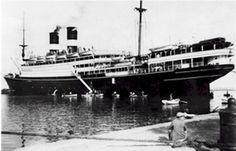 Immigrant Boats Ellis Island | Built by Cantieri Navali Triestino, Monfalcone, Italy, 1912. 12,567 ...