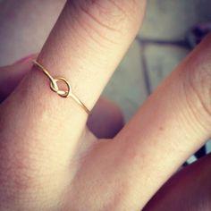 Knot Ring. $12.00, via Etsy.