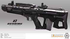 Behring CQB Concept by DrZoidberg96 on DeviantArt