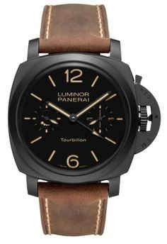 Panerai Luminor Tourbillon GMT Ceramica