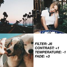 VSCOCAM Filter: J6| Contrast: +1| Temperature: -1| Fade: +3 - I would recommended this if you want a greenish feed. GET PAID FILTER FOR FREE WITH THE LINK ON MY BIO! TUTORIAL ON @filtertexture ! #vsco#vscocam#vscofilter