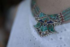 """Warrior"" Necklace, handmade in Nepal utilising a Tibetan handicraft & style. Coming soon for www.emmaandlee.com"