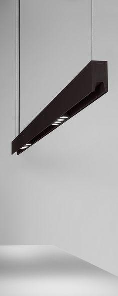 Anvil LED system by for B. Linear Lighting, Lighting System, Modern Lighting, Lighting Design, Modern Pendant Light, Pendant Light Fixtures, Pendant Lamp, Pendant Lighting, Room Lights
