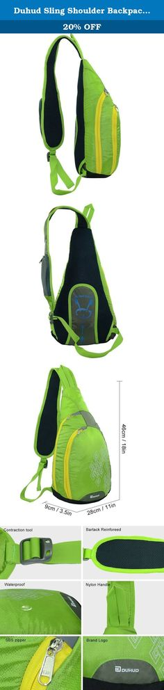 Duhud Sling Shoulder Backpacks Crossbody Rope Bags Triangle Rucksack for Hiking or Multipurpose Daypacks. DUHUD is a professional outdoor products brand. For the past five years, we have launched more than ten different varieties products, and they have get customer acceptance and praise with its prefect design, high quality and our superior customer service. Main brand products are climbing backpack, chest bag, trekking poles, tent and so on, and there products sells well around the…