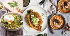 Clean eating doesn't have to mean restrictions, bland salads and unsatisfying soups – make your New Year health kick more exciting with these delicious, and filling, detox dinners. Packed with superfoods – think lentils and turmeric alongside favourites quinoa and kale – these nutrient-rich dinners will reboot your system and rid your body of toxins. Whether it's a fish supper, a warming sweet potato stew, some clever carb swaps, or a roasted butternut squash salad; these dishes make…