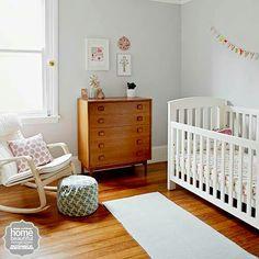 What a perfect baby nursery Nursery Room, Kids Bedroom, Baby Room, Nursery Ideas, Kids Rooms, Nursery Design, My Dream Home, Cribs, Beautiful Homes