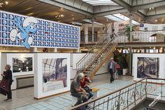Центр Комиксов - архитектура здания - интересные места Брюсселя - Бельгия - достопримечательности - GlobeTrotter - рассказы о путешествиях - отзывы о странах - Опубликовать рассказ - Belgian Comic Strip Center