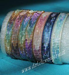 off loom beading techniques Loom Bracelet Patterns, Bead Loom Bracelets, Bead Loom Patterns, Beaded Jewelry Patterns, Beading Patterns, Bead Jewellery, Seed Bead Jewelry, Bead Crochet, Loom Beading