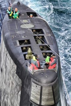 Astute Class Royal Navy Nuclear Submarine HMS Ambush. #7B
