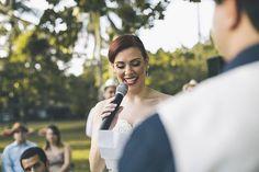 Casamento ao ar livre Camila e Mario