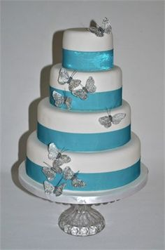 This is very elegant. I don't know if I'd have the butterflies though.