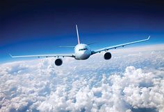 Wall Mural Of The Sky Wall Decal Sky Wallpaper Clouds Plane