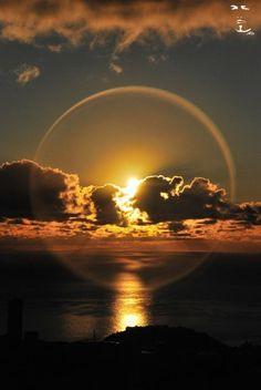 Amazing sunset/sunrise worth catching on film...