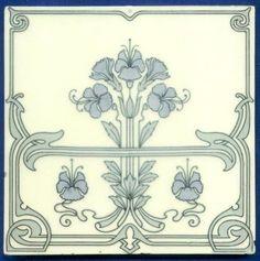 Original Jugendstil Fliese Kachel, Art Nouveau Tile, Tegel, Carreau. Die Fliese ist ein kleines Kunstwerk und eher ein Dekorationsstück / Wandschmuck und läßt die Epoche des Jugendstils auferstehen. Jedoch verschicke ich aus Sicherheitsgründen maximal 8 Fliesen in einem Paket! | eBay!