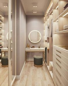 Trendy Small Closet Design Walk In Bedrooms Ideas- - wardrobe.- - Trendy Small Closet Design Walk In Bedrooms Ideas- – wardrobe. Small Closet Design, Walk In Closet Small, Bedroom Closet Design, Master Bedroom Closet, Small Closets, Closet Designs, Walk Through Closet, Walk In Wardrobe Design, Small Wardrobe