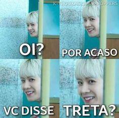 Resultado de imagem para uniq memes e portugues Bts Memes, Got7 Meme, Kermit, K Pop, Disney Memes, Foto Bts, Super Junior, Shinee, Bigbang