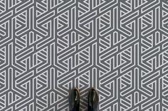 angle-abstract-line-pattern-flooring-grey-feet-flooring