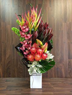 Urban Flower: Australian Native Flower Arrangements For Church Event