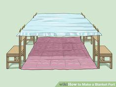 Image titled Make a Blanket Fort Step 14