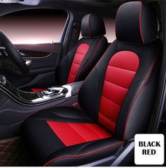 VOLVO C30 ALL MODELS DELUXE BLUE PIPING SEAT COVERS 1+1