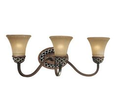 "Minka Lavery ML 6793 Renaissance 3 Light 23.75"" Wide Bathroom Fixture from the Traditional Bath Art Collection"