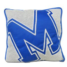 NEED this for our MEMPHIS room! Memphis Tigers Throw Pillow | Tiger Bookstore