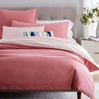 Buy west elm Sateen Reversible Bedding, Pink Blossom, Square pillowcase from our Duvet Covers range at John Lewis & Partners. Free Delivery on orders over Double Duvet Covers, Bed Duvet Covers, Pink Bedding, Luxury Bedding, Bedding Sets, Marble Duvet Cover, West Elm Bedding, Pink Blossom