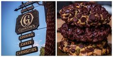 Learn How To Make Gideon's Bakehouse Chocolate Chip Cookies At Home! Coffee Cake Cookies, No Bake Cookies, Chocolate Chip Cookies Ingredients, Disney Springs, Chocolate Cherry, Disney Food, Copycat Recipes, Chips, Desserts