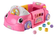 Fisher-Price Laugh & Learn Smart Stages Crawl Around Car puts baby in the driver's seat of a stationary car that comes fully loaded inside and out with grow-with-me options for learning and play! ...
