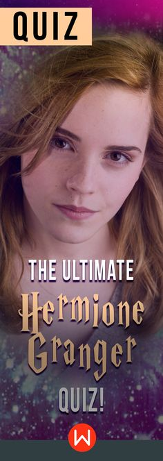 Hermione Granger Trivia quiz. Many people like Hermione Granger, but do you really know her? Test how much you really know Hermione on this HP trivia test. Harry Potter Quiz, JK Rowling, Potterhead Challenge. Hermione Quiz.