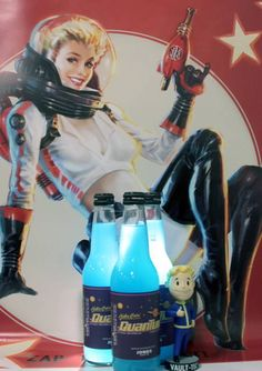 Not A Fan Of Beer? Fallout Nuka Cola Is An Actual Thing Now