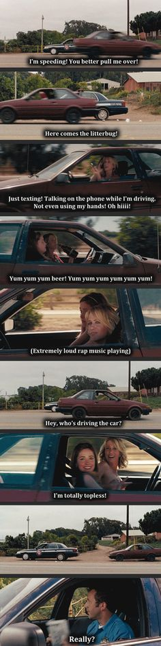 Grand Theft Auto By Kristen Wiig... My favorite part of the movie...