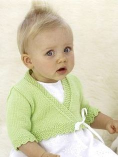 Little Anna Wrap bolero or shrug for a little girl - unfortunately clicking  does not lead to the pattern 66610d1143