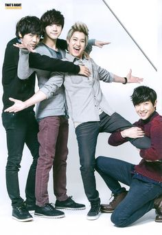 MBLAQ...Mir, Thunder, Seungho,  and Joon #cuties ❤