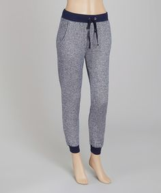 Love this Navy Drawstring Sweatpants on #zulily! #zulilyfinds