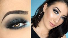 Smokey Eye with a Pop of Color Eye Makeup Tutorial