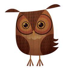 'Owl' by skwirrol (Eva Galesloot)