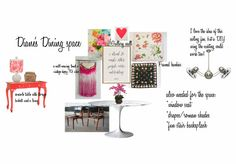 Check out this moodboard created on @olioboard: Diane's dining Room by domesticjunkie