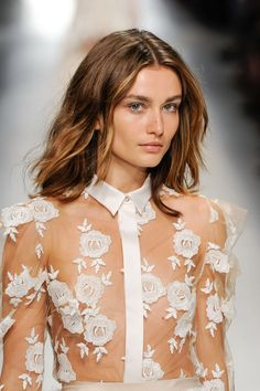 Vogue Baby    frackoviak:   BLUMARINE SPRING 2014   ANDREEA...