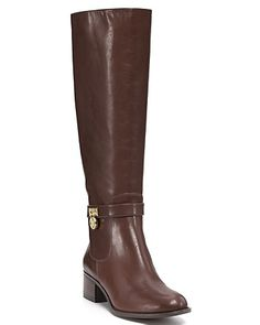 "Simple boot by my Michael! MICHAEL Michael Kors ""Hamilton"" Riding Boots 