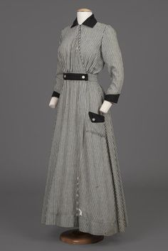 Dress, circa 1910.
