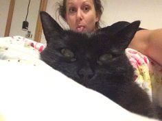 Mog & mummy selfie