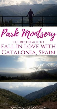 Fall in love with Catalonia hiking in Park Montseny, a true natural gem! http://awomanafoot.com