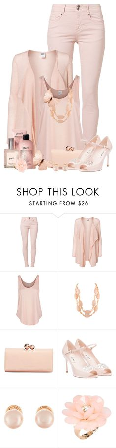"""""""Untitled #508"""" by tinkertot ❤ liked on Polyvore featuring Soyaconcept, Vero Moda, Rip Curl, philosophy, Ted Baker, Miu Miu, Kenneth Jay Lane, Dettagli, women's clothing and women"""