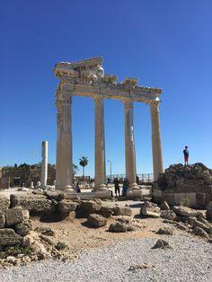 Antic ruins of long forgotten towns - Antalya, Turkey Antalya, Marina Bay Sands, Places To Go, Turkey, Building, Travel, Buildings, Viajes, Traveling