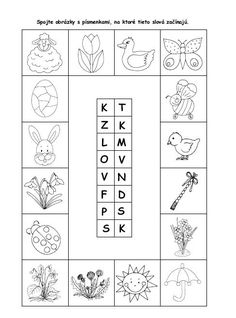 Pracovné listy a hry - Kolekcia používateľky giva4 | Modrykonik.sk Crafts For Kids, Preschool, Teaching, Education, Holiday Decor, Spring, Blog, Speech Language Therapy, Corona