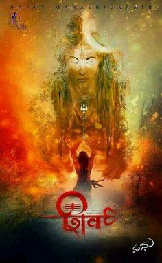 Maha Shivratri - A Night of Bliss of Lord Shiva Suppresses Enmity, Anguish; Bless Immortality, Success, Joy and Prosperity in Life Shiva Tandav, Rudra Shiva, Shiva Art, Hindu Art, Aghori Shiva, Krishna, Shiva Shankar, Lord Shiva Hd Images, Lord Mahadev